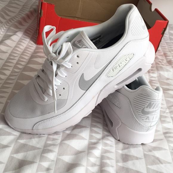 timeless design 064ac d512a NIB - All White Womens Nike Air Max 90 Ultra 2.0 NWT